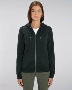 Damen Zipjacke mit Kapuze aus Biobaumwolle - Gary Mash