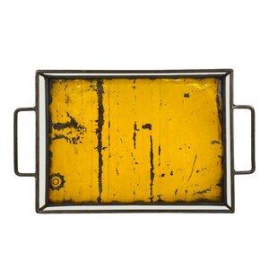 Upcycling Ölfass Tablett - Industrial - 50cm - Moogoo Creative Africa - Moogoo Creative Africa