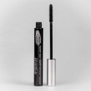 Naturkosmetik - Mascara - Super Long Lashes - glutenfrei - carbon black - benecos