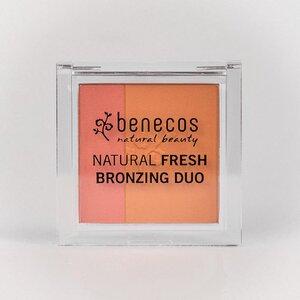 Naturkosmetik - Fresh Bronzing Duo - 2in1 Bronzer - ibiza nights - benecos