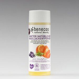 Naturkosmetik Nagellackentferner - Bio-Orangenschalenöl&Bio-Lavendelöl - benecos