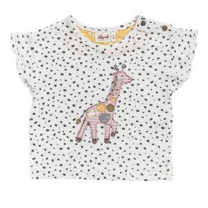 Baby und Kinder T-Shirt Giraffe reine Bio-Baumwolle - People Wear Organic