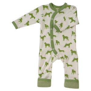 Kimono-Strampler HUNDE (GOTS zertifiziert) - Organics for Kids