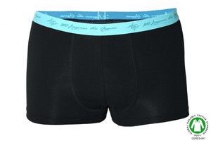 4er Pack Herren Retro Pants schwarz mint - 108 Degrees