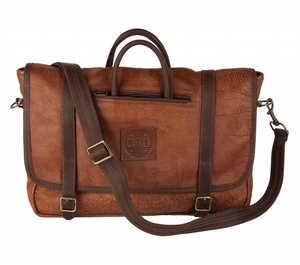 Ledermessenger Bag | Kalahari Sand - Freedom of Movement