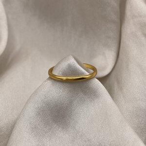 Ring Colibri | recyceltes 925er Silber mit 24K Goldbeschichtung - Alma Amazona