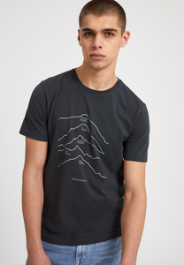 JAAMES TOP 5 MOUNTAINS - Herren T-Shirt aus Bio-Baumwolle - ARMEDANGELS