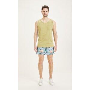 Badehose - BAY swim shorts AOP - KnowledgeCotton Apparel