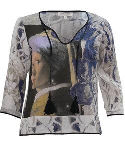 Alma & Lovis Pearl Blouse indigo - Alma & Lovis