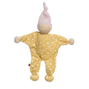 Püppchen Manderl gelb gepunktet Ökologisch People Wear Organic - People Wear Organic