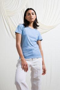 Recyceltes T-Shirt für Frauen aus Baumwolle Franca - Rifò - Circular Fashion Made in Italy