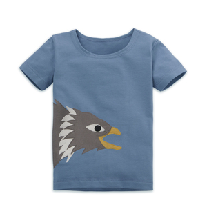 Kinder T-Shirt mit Seeadler - internaht