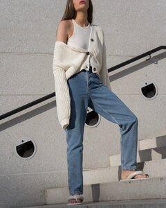 Organic Cotton Circular Denim 5 Pocket Jeans - Organic Basics