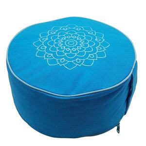 Yoga/Mediationskissen aus Bio-Baumwolle (Höhe 15 cm, verschiedene Farben) - Frida Feeling