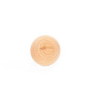 rollholz Faszienkugel - nachhaltiges Faszientraining und Eigenmassage - rollholz