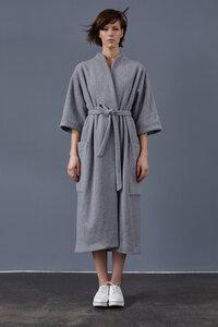 Mantel aus Bio-Fleece - LUXAA