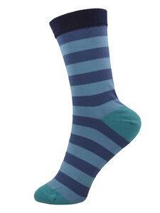 Grödo Damen und Herren Ringel Socken Bio-Baumwolle - grödo