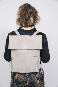 vegan Backpack + Shopper Myrto - ein garten Studios