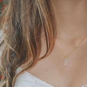 Halskette Colibrí | recyceltes 925er Silber mit 24K Goldbeschichtung - Alma Amazona