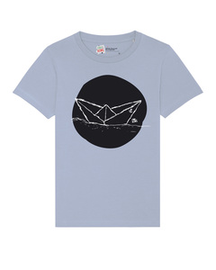 Kinder T-Shirt Paperboat aus Biobaumwolle von for the kids - for the kids