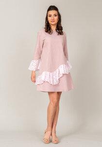 "Lis Natural Provence Kleid ""Pink Sand"" - Atelier SNOW"