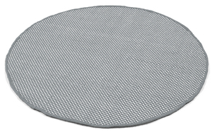 Runder recycelter In-/Outdoor Teppich DOTS - liv interior