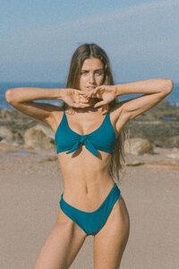 Bikini Top IRIS - PETROL - OCEANCHILD