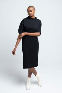 YOKO - Damen Kleid mit Stehkragen aus Bio-Baumwolle - SHIPSHEIP