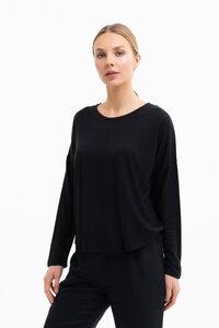 LILLY - Damen Langarmshirt aus TENCEL Lyocell Woll Mix - SHIPSHEIP