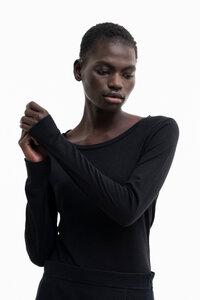 MISTY - Damen Langarmshirt aus TENCEL Lyocell Woll Mix - SHIPSHEIP