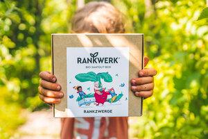 "Bio-Saatgut-Box ""Rankzwerge"" - Rankwerk"