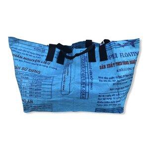 Große Einkaufstasche Ri42 recycelter Reissack - Beadbags