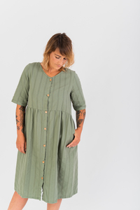 Midi Kleid Porto Covo - NÄZ