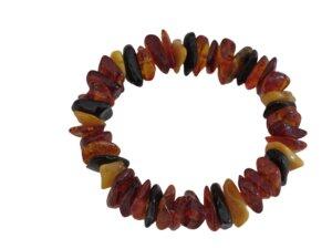 Armband Nuggets aus Bernstein - Länge: ca. 19-20 cm - ReineNatur