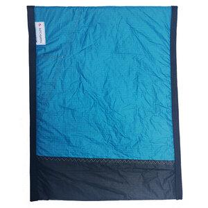 Handgearbeitete Notebook-Tasche / Notebook-Sleeve aus Segeltuch UNIKAT 18-19 Zoll - Beachbreak