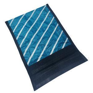 Handgearbeitete Notebook-Tasche aus Segeltuch upcycled UNIKAT 12-14 Zoll - Beachbreak