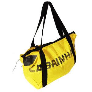 Reisetasche / Sporttasche Gr. XXL 100 Liter Segeltuch Canvas Kitesegel UNIKAT - Beachbreak