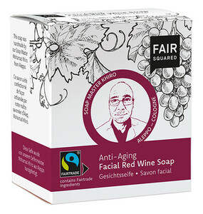 Rotweinseife - Fair Squared