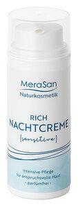 MeraSan vegane Nachtcreme SENSITIVE -parfümfrei- 50ml - MeraSan