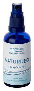 MeraSan veganes Natur Deo Sensitive - ohne Alkohol & Aluminium - 50ml - MeraSan