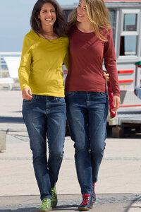 Legere Jeans mit Quernaht - Maas