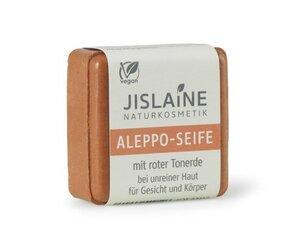 Aleppo-Seife mit roter Tonerde, 100g - Jislaine Naturkosmetik