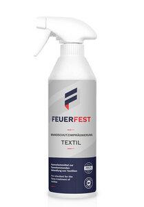 FEUERFEST Brandschutzimprägnierung für Textilien - DIN 4102-B1 - 500ml - FEUERFEST®