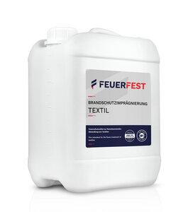 FEUERFEST Brandschutzimprägnierung für Textilien - DIN 4102-B1 - 10,0l - FEUERFEST®