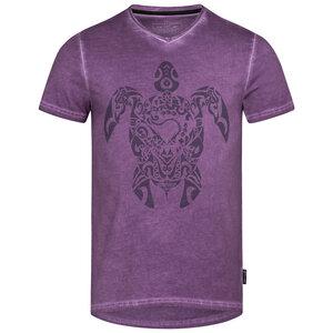 Lexi&Bö Tribal Turtle V-Neck T-Shirt Herren - Lexi&Bö