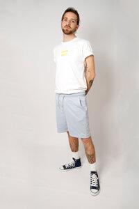 Herren Bio-Baumwoll Shirt mit Siebdruck, weiß - Barbeck
