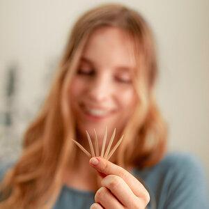 Zahnhölzer Minze-Fluorid – aus Bambus – nachhaltig – vegan - HYDROPHIL