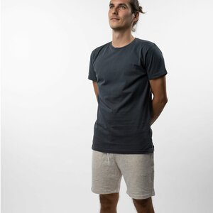 T-Shirt long Herren - Bio-Baumwolle grau - Vresh Clothing