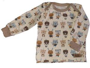 Babyshirt aus Biojersey Lieblingsfreunde - Omilich