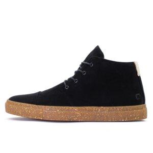 '59 Black Velours recycelte Stoff-Sneaker - SORBAS